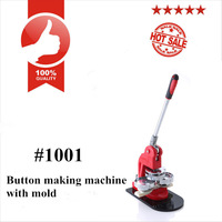37 mm Round Badge Making Machine Button Maker Machine Button Tool Press Machine+Round Aluminium Mould With ABS Plastic Slide