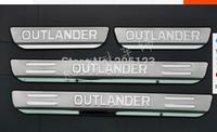13 14 Mitsubishi Outlander 2013 2014 Side Door Sill Threshold Scuff Plate Trims