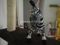 31cm Madagascar 3 Zebra Stuffed Animals Toys Plush Doll ,retails,small wedding toy,child gift