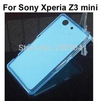 Soft Transparent TPU Phone Case Cover For Sony Xperia Z3 mini case
