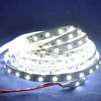 5M 5050 SMD led strip white color with 60leds/m  24V non-waterproof for kitchen bedroom livingroom and Christmas decoration