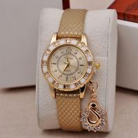 2014 new fashion set auger ms swan pendant table Serpentine belt fashion table Quartz watch wholesale christmas gift