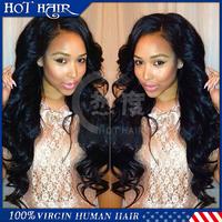 Cheap U Part Wigs Body Wave Virgin Brazilian U Part Wig Human Hair  For Sale Front Lace U-Part Wig For Black Women