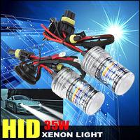 Hot Sales 2pcs 35W HID Xenon hi/lo Replacement Light Bulbs Lamp Headlight 3000K 4300K 6000K 8000K 10000K 12000K H1 H3 H7 H9 H11