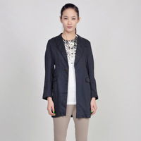 new 2015 JNBY South commoner long-sleeved suit jacket collar small suit jacket female 5a12119 autumn fashion women's blouse