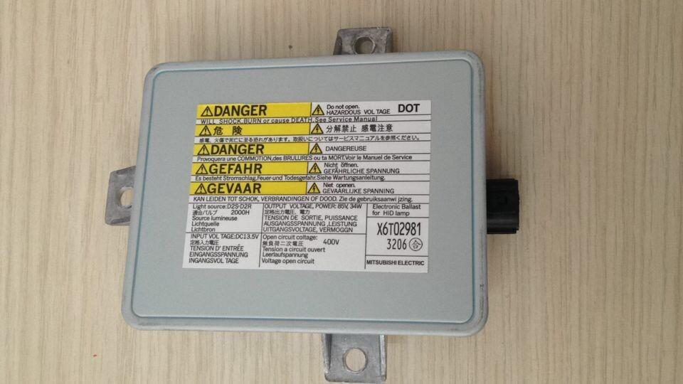 X6T02991 OEM Headlight Xenon Ballast HID Control Module Unit 12V(China (Mainland))