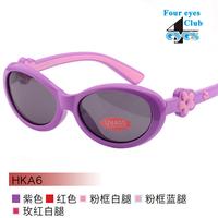 2014 new dimensional flowers super cute super cute cartoon children sunglasses glasses HKA6