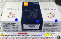 wholesale 10 pcs Bllue White English French Spanish Germany Factory use box packing 100% original for Samsung Galaxy S3 i9300
