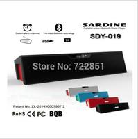 SDY-019 Original Nizhi Sardine HIFI Portable Bluetooth Speaker FM Radio  USb Amplifier Stereo Sound Box with microphone