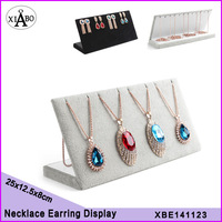 wholesale 6PC/lot high quality 25*12.5cm double-purpose earring stand,necklace display