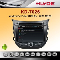 HB20 pure android 4.2.2 Car DVD Player with GPS navigation