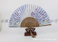 [AI] licensing silk fan gifts [for] a new fan manufacturers butterfly Cherry Blossom Fan wholesale custom