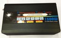 Modified sine wave dc ac inverter 1500W peak 3000W DC 12V AC 220V + UPS function