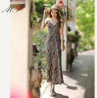 Women Summer Dress 2014 Tank Top Ankle Length Long Maxi Dress Deep V Neck Ladies Celebrity Party Casual Dress Vestidos