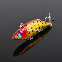 "1pc High Quality Fishing lure 3""-7.62cm/0.341oz-9.68g Fishaing bait 6# high carbon steel hook fishing tackle free shipping"