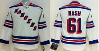 Youth New York Rangers Hockey Jerseys #61 Rick Nash Jersey Cheap Jerseys