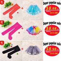 Hot Sale Winter Warm Leggings Classical Clothing Fashion Novelty Girls Tutu Skirts Cotton Cake Kids Pants