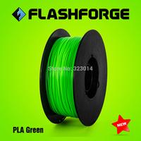 Flashforge 3D printer PLA Green colour  filaments,diameter 1.75mm,for Creator series.