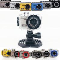 Original HD 1080P Ourdoor Action camera F39 M300 VS sj4000 WIFI Waterproof Helmet Camcorder Free shipping