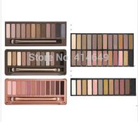1 PC Eye Shadow Wholesale 2014 New Nake Makeup Eyeshadow Palette 12 color NK 1 2 3 4 5 Make up Set