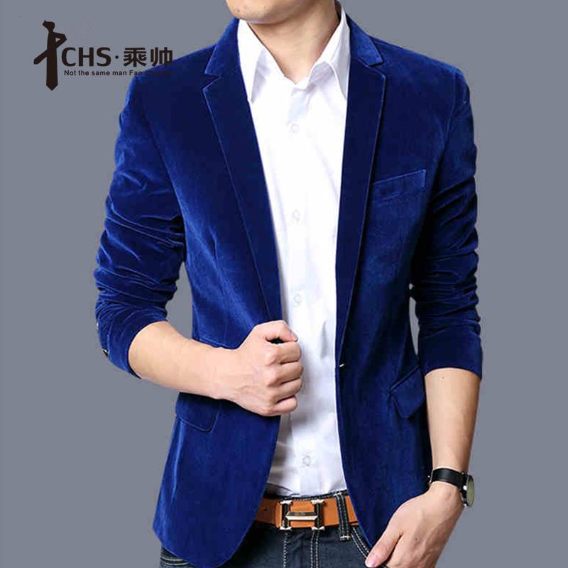 Mens Suit Jacket Blue Blue Blazer Men Men Suit