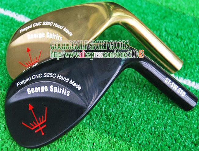 New Golf Clubs heads George Spirits PRO Golf Wedges heads 50 52 54 56 58 60 loft 3pcs/lot Club Set NO shaft Free Shipping(China (Mainland))