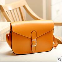 shipping Han bag with the money fashion casual retro handbag leather shoulder handbags have his piece of metal BG0033