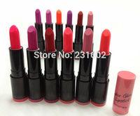 12pcs/lot, 12 color glow magic lipstick lip gloss tint colors dark Vintage Red botom maquiagem makeup freeshipping