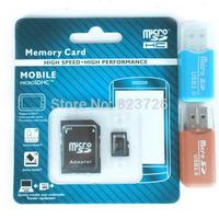 Top Quality Real Capacity 4GB 8GB 16GB 32GB 64GB Class 10 Micro SD Card TF Memory Card +Free Card Reader - Free Shipping
