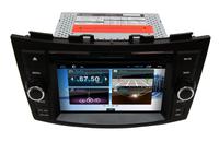 Car DVD for Suzuki Swift Ertiga with Pure android 4.2.2 dual Core CPU:1G RAM:1G WIFI 3G audio video player GPS Navigation map
