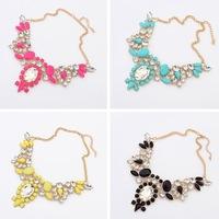 2014 fashion High quality Necklace vintage necklaces & pendants Romantic nice choker Necklace statement jewelry women