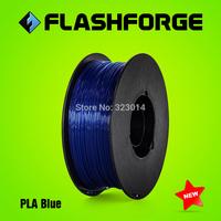 Flashforge 3D printer PLA Blue colour  filaments,diameter 1.75mm,for Creator series.