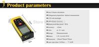 Brand New CP70 (0.05M-70M / 230ft  )Handheld Digital Laser Distance Meter RangeFinder Measure Distance Area Volume With Bubble