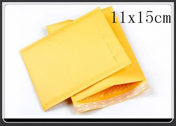 Пакет для почтовых отправлений 4.3 x5.9 [11x15cm] Kraft Bubble Mailers 005