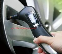 New arrival multifunctional car tire pressure tire pressure gauge LCD digital tire gauge with flashlight