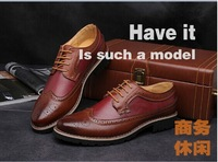 New winter leather male bullock leather shoes