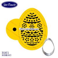 """Cookies Stencils"" Christmas egg biscuit spray stencil patternsSugar powder sieve fondant cake mold spray design HMC071E1"