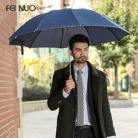 Fino Large Double windproof umbrella folding umbrella creative business men Unisex Cheap