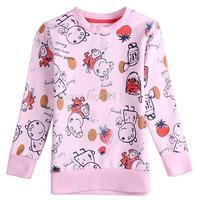 2014 European style children long sleeve peppa pig T-shirt / kids spring autumn coat / girls clothes