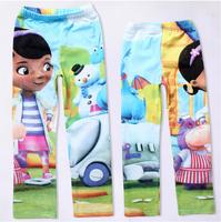 Wholesale-Kids Leggings Girls My Little Pony cartoon horse casual leggings children 5-9 years free shipping