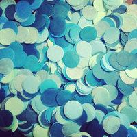 "1 inch (2.5 cm ) 1"" Circle Tissue paper confetti // table decoration // party // wedding  confetti toss"