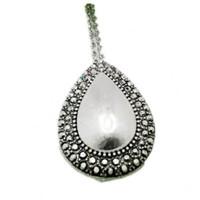 Pendant Silver Necklaces Romantic Anniversary Rhinestone Fashion Necklaces For Women 2014 Fine Jewelry Accessories Vintage