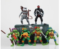 Free Shipping 2014 New movie TNMT teenage mutant ninja turtles toy doll gift articles model Action Figure 4Pcs/Lot