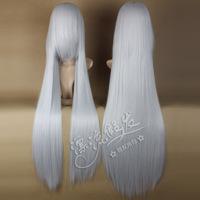120 cm light silver li langya red cherry leisure  basescu cannavaro Anime wigs