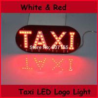 12v 30pcs/lot FREE SHIPPING 3528SMD 45LED Taxi Board Light indicator light
