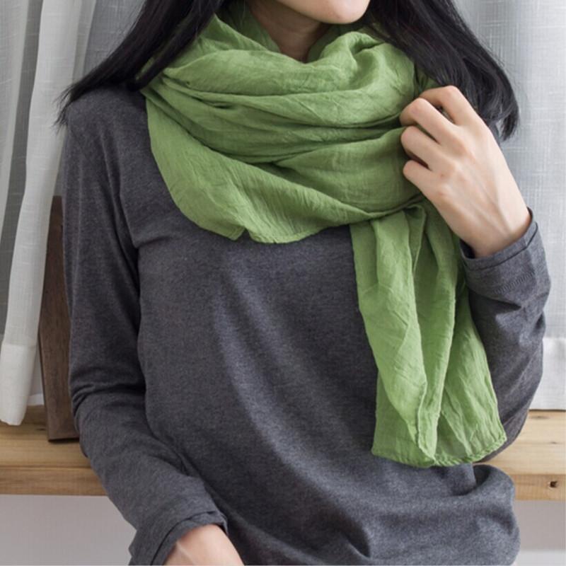 Hot New Fashion Autumn Summer Winter Cotton and linen Scarf Women Winter Warm Tassel Scarf Wrap Shawl Scarves(China (Mainland))