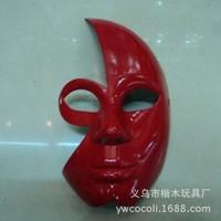 6pcs Masquerade Party Fantasy Masks weddings Ladies Halloween Half of the face