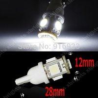 20x T10 5050 5SMD LED Car Light Wedge Lamp Bulbs DC 12V T10 Running Tail Turn Signal Corner Stop Light