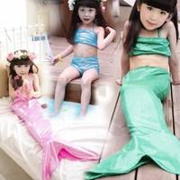 2014 New Summer Girls Swimwear Fashion Mermaid Infantil Girl Biquines Girls Moda Praia Swimsuit Kids 5 pcs / lot 1447