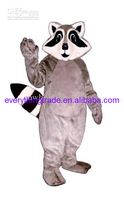 Hot sale 2014 Character Adult lovely Little Raccoon Mascot Costume fancy dress Halloween party costume